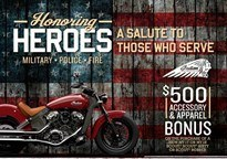 Indian Honoring Heroes Midsize